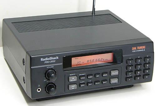 RadioShack PRO-2052 - Self-sufficiency
